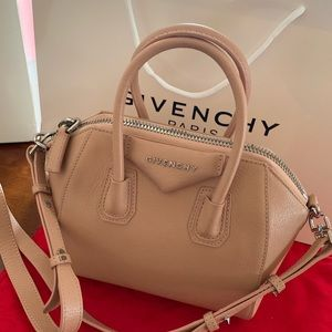 Authentic Nude Givenchy mini bag